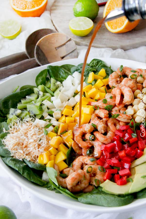 Shrimp Avocado Salad | Carlsbad Cravings