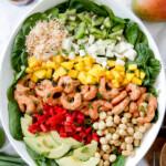 Caribbean Shrimp Salad with Citrus Balsamic Vinaigrette