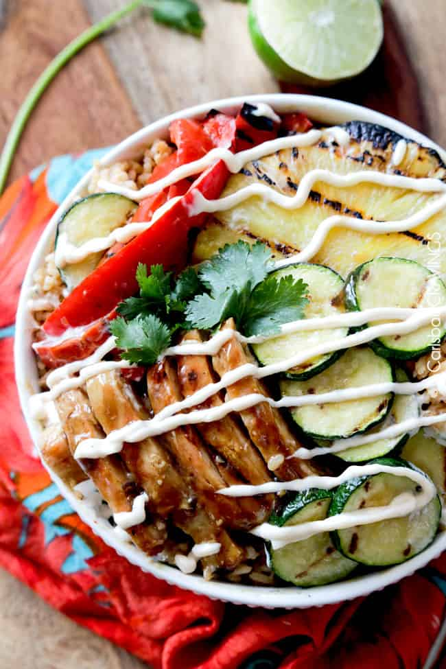Teriyaki Chicken Bowls | Carlsbad Cravings