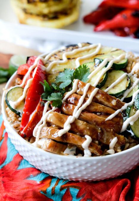 Teriyaki Chicken Bowls | Carlsbad Cravings