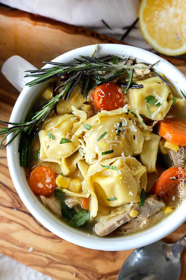 Lemon Chicken Soup Recipe | Carlsbad Cravings