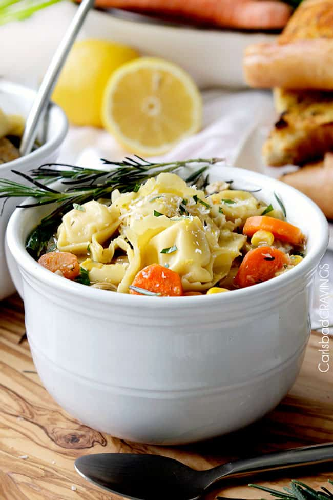 Lemon Chicken Soup | Carlsbad Cravings