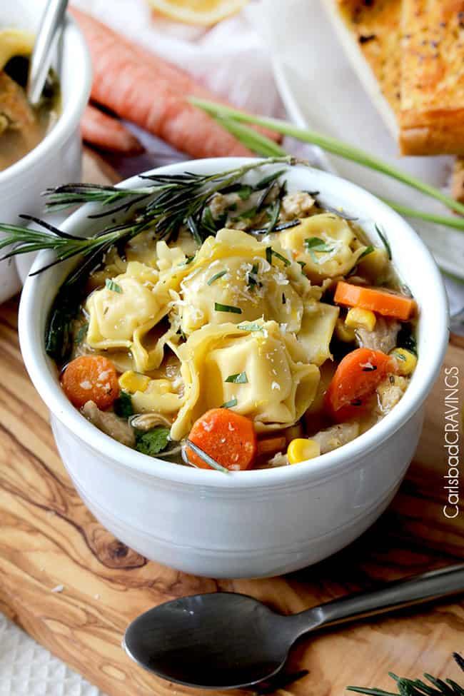 Lemon Chicken Soup Recipe | Carlsbad Cravings