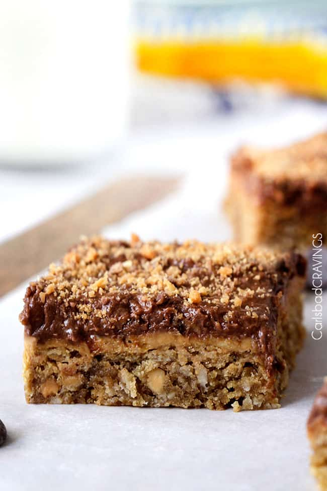 Peanut Butter Cookie Bar | Carlsbad Cravings