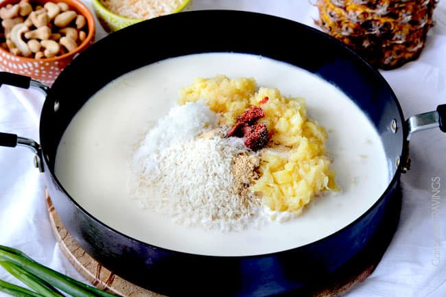 Coconut Rice Recipe with Pineapple and Cashews | Carlsbad Cravings
