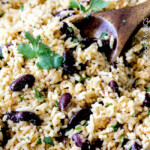 Coconut Ginger Red Beans and Rice