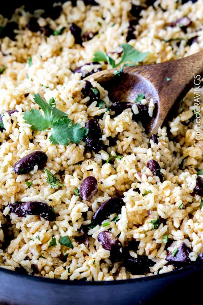 Red Beans and Rice with Coconut & Ginger - Carlsbad Cravings