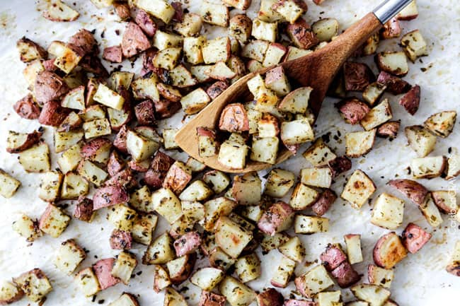 Oven Roasted Potatoes Recipe | Carlsbad Cravings