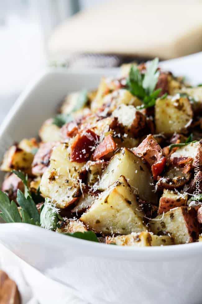 Roasted-Pesto-Bacon-Potatoes-9