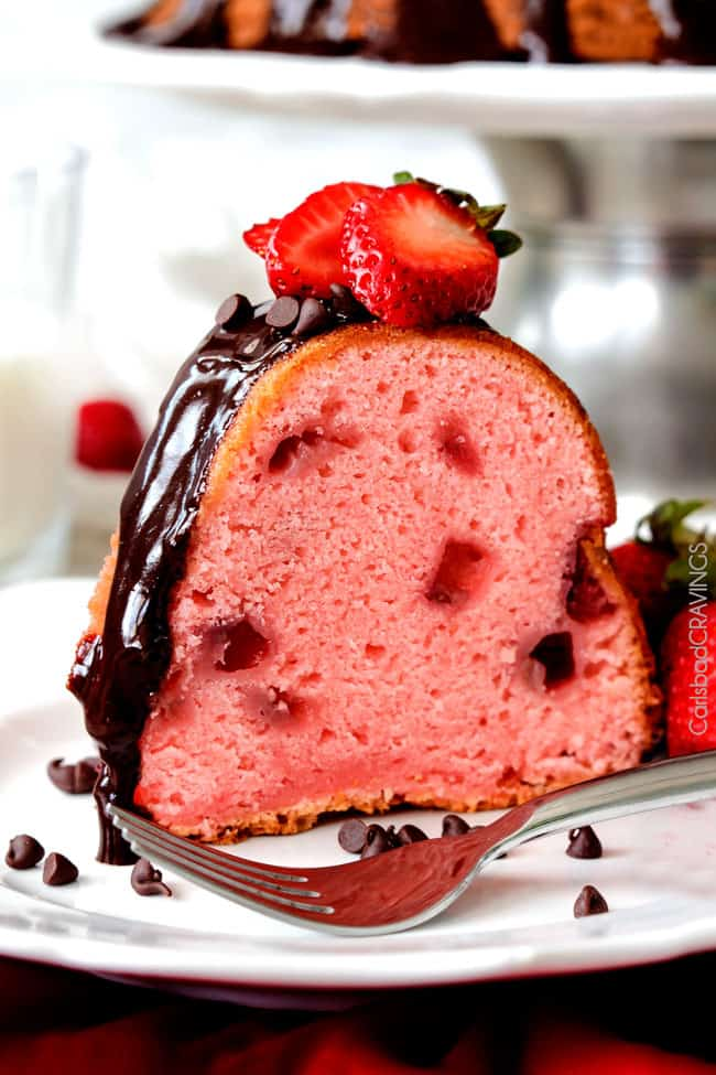 strawberry pound cake strawberry pound cake with chocolate ganache carlsbad 7762