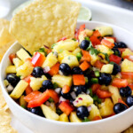 Blueberry Pineapple Salsa