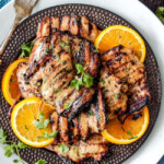 Cajun Honey Mustard Chicken (Grill or Stovetop)