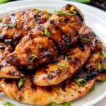 Grilled Honey Sriracha Orange Chicken