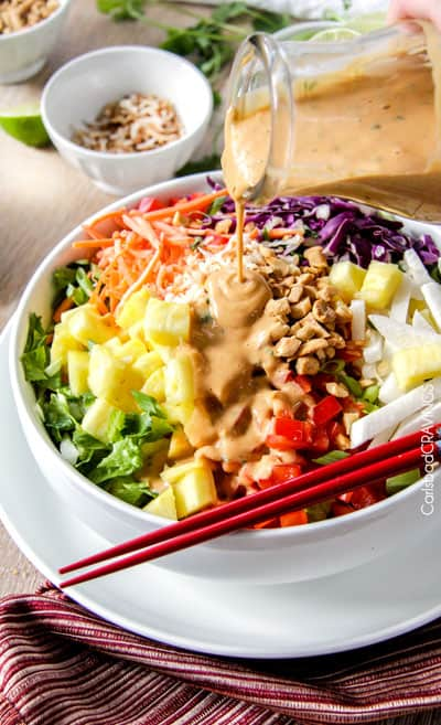 Asian Peanut Coconut Dressing by Carlsbad Cravings