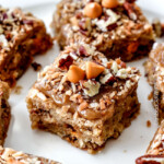 Soft and Chewy Blondies with Butterscotch and Coconut