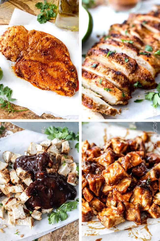 asian bbq chicken salad recipe