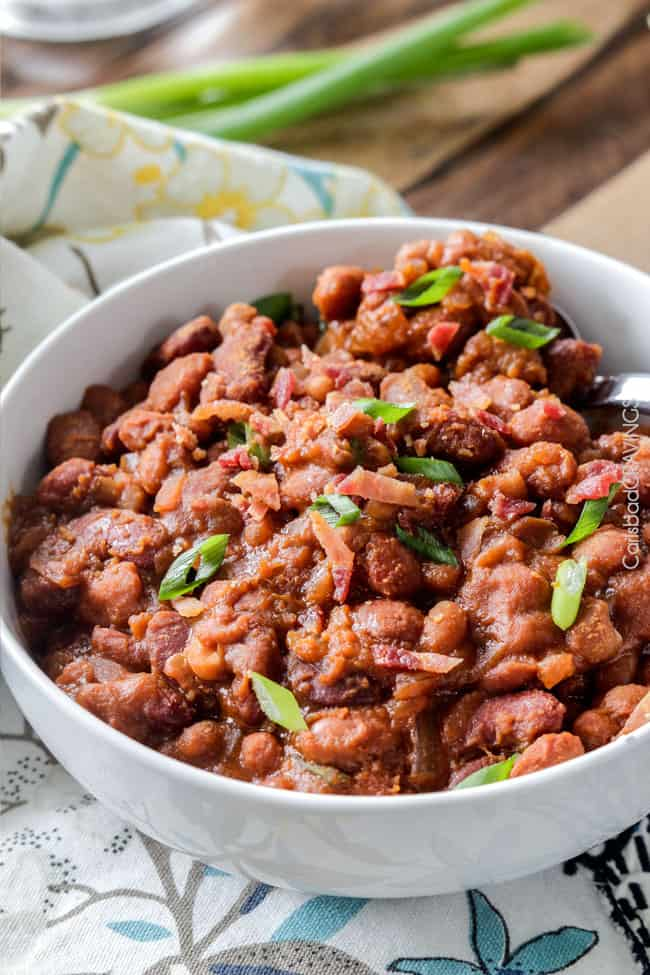 Slow Cooker Hawaiian Barbecue Baked Beans