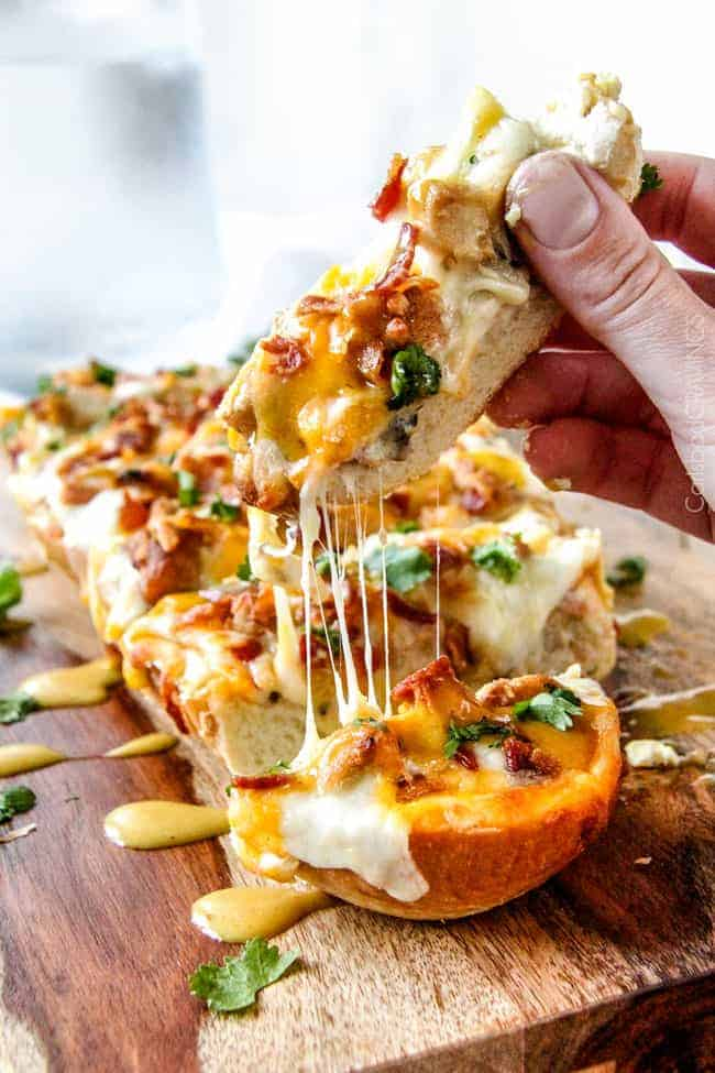 Alice-Springs-Chicken-French-Bread-Pizza-7