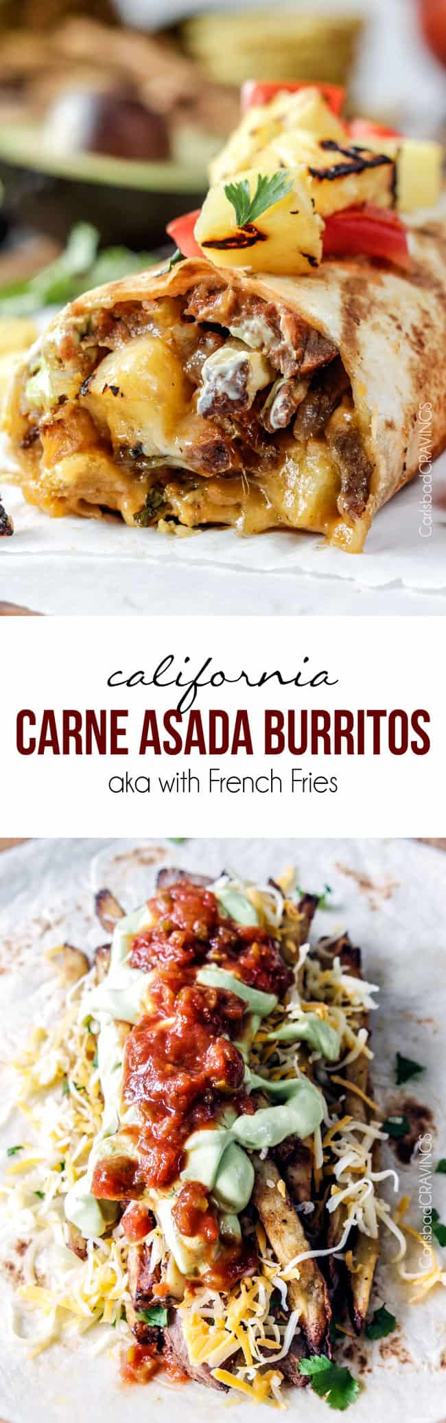 California Carne Asada Burritos With Freezer Instructions