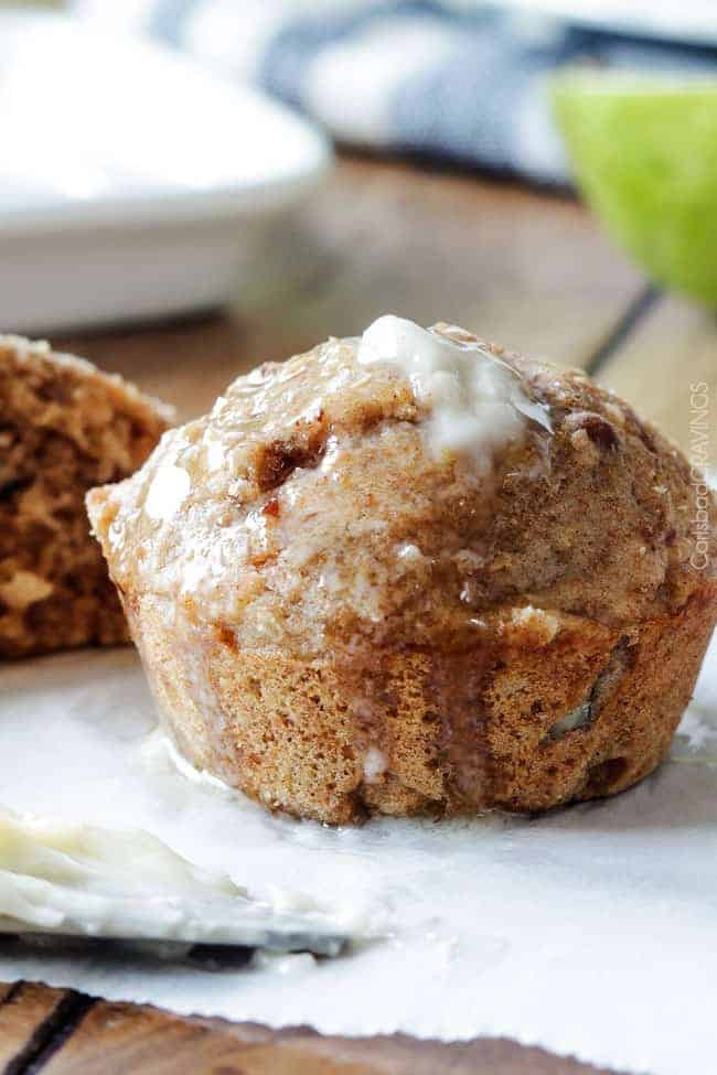 One Bowl Lowfat Coconut Pecan Pear Muffins