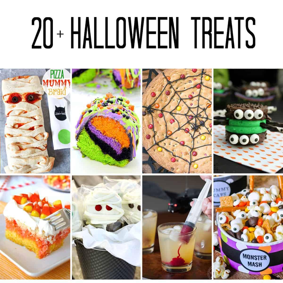 Over 20 Halloween Treats