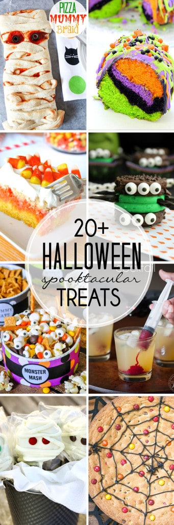 over 20 Halloween Treats to make it the best, most memorable Halloween ever!