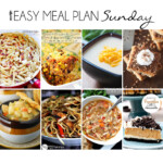 Easy Meal Plan Sunday 14