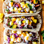 20 Minute Red Curry Beef Tacos with Coconut Crema