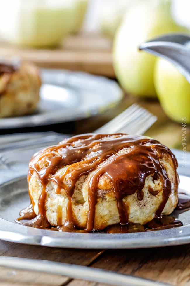Peanut Butter and Caramel Apple Dumplings AKA the best apple dumplings ...