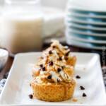 Mini Banana Coconut Cream Pies