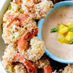 Coconut Cashew Shrimp with Pineapple Sweet Chili Dip