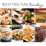 Easy Meal Plan Sunday 16