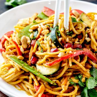 Thai Pumpkin Pasta
