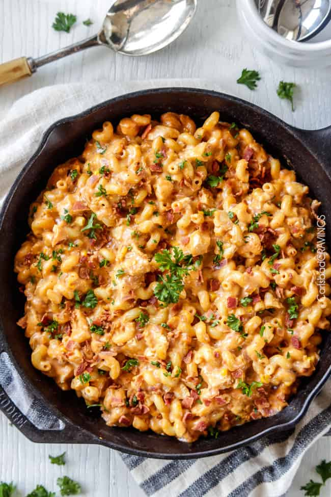 Best Ever Buffalo Chicken Mac And Cheese Lightened Up