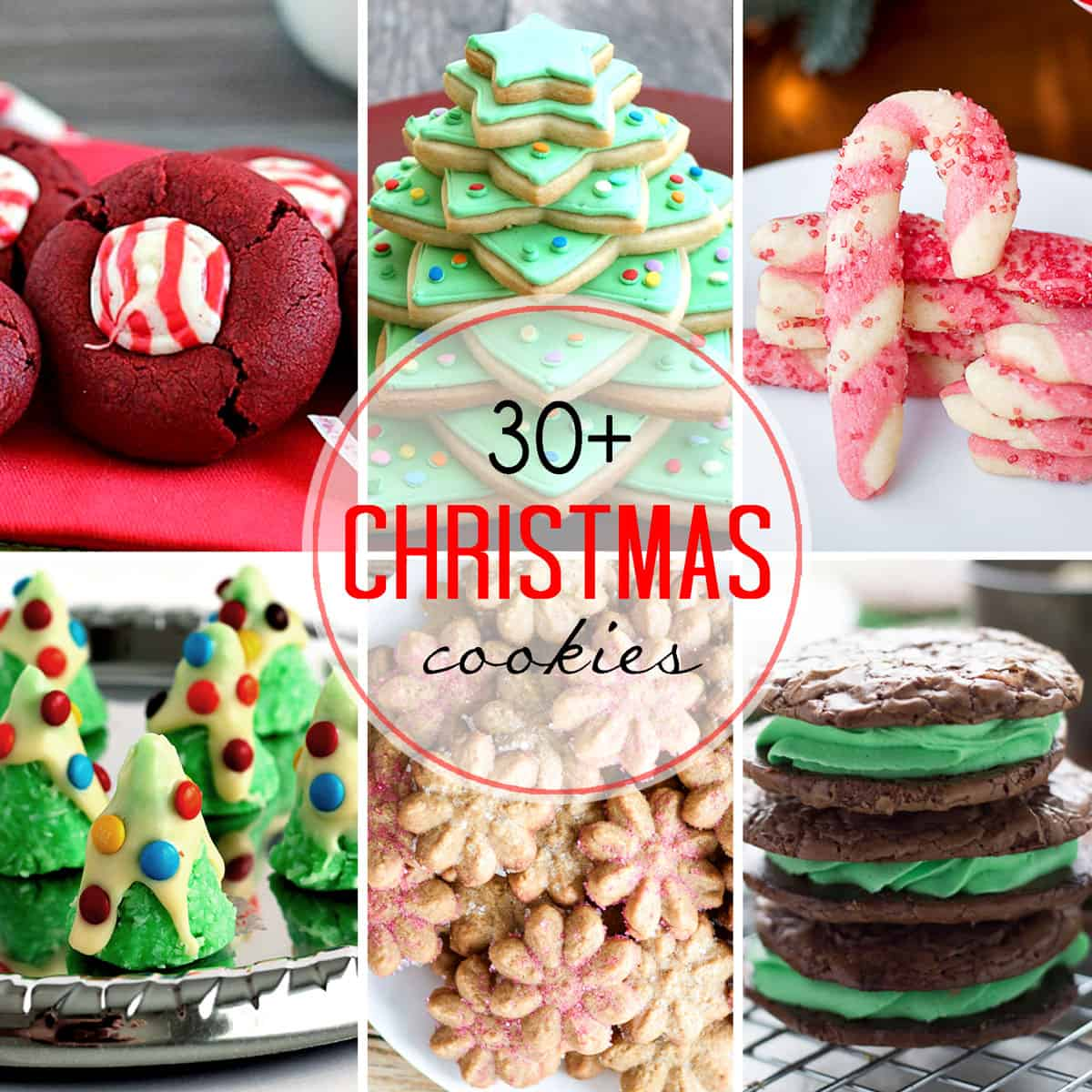 Over 30 Christmas Cookies! - Carlsbad Cravings