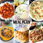 Easy Meal Plan Sunday 23