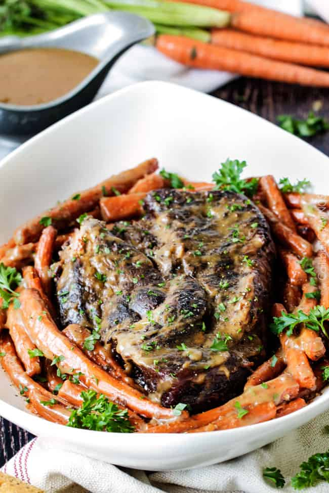 Easy pork pot roast oven recipe