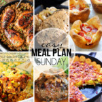 Easy Meal Plan Sunday 24