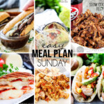 Easy Meal Plan Sunday 26