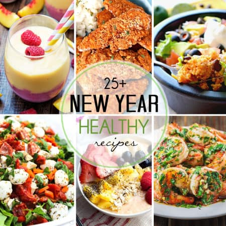 Over 25 Healthy Recipes!