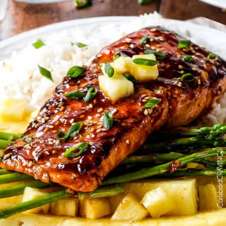 Asian BBQ Salmon