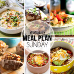 Easy Meal Plan Sunday 31