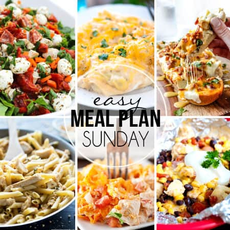 Easy Meal Plan Sunday 32