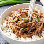 Slow Cooker Honey Soy Chicken