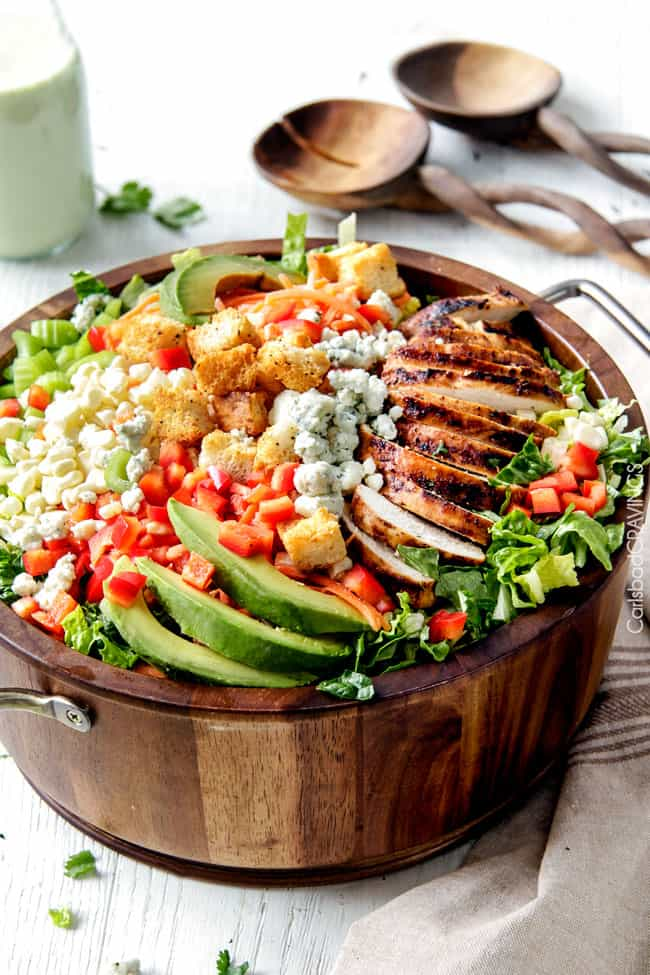 Buffalo Chicken Salad with flavor bursting chicken and the most ...