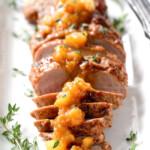 Cajun Pork with Tangy Pineapple Glaze