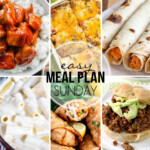 Easy Meal Plan Sunday 34