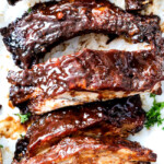 Fall Off the Bone Slow Cooker Barbecue Ribs
