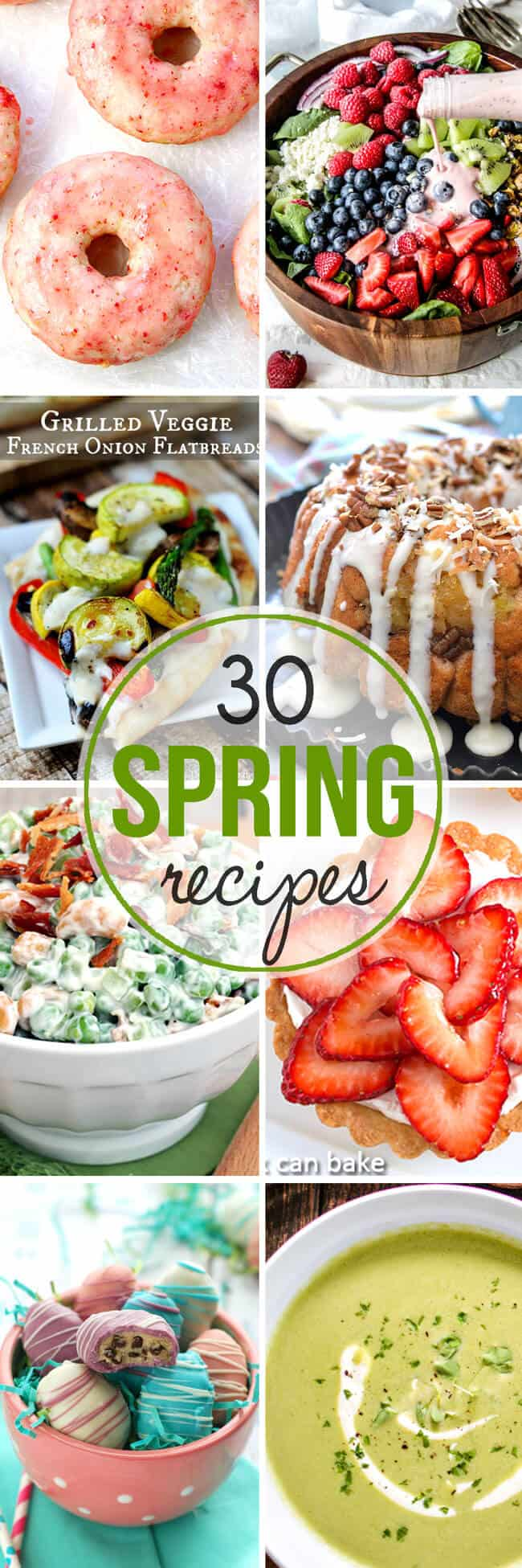 Over 30 Spring Recipes
