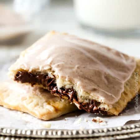 Nutella Brown Sugar Pop Tarts